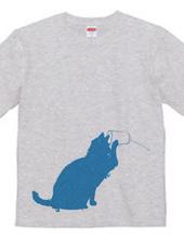 猫の糸電話 青02