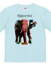 union jack elephant