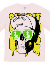 Cap Skull greenyellow