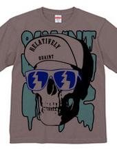 Cap Skull blue