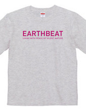 EARTHBEAT PINK LOGO T-SHIRT