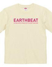 EARTHBEAT PINK LOGO T-SHIRT