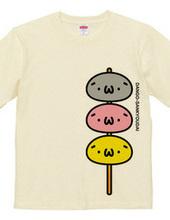 カラー版:だんご三兄弟(´・ω・`)