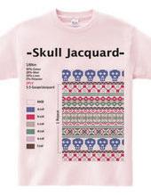 Skull Jacquard #001