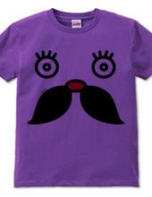 moustache(口髭2)眉毛なし