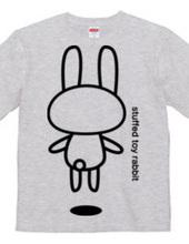 stuffed toy rabbit (Airborne 03)