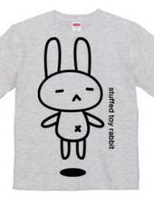 stuffed toy rabbit(浮遊04)