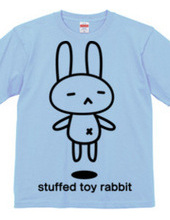 stuffed toy rabbit(浮遊05)