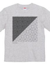 Glass pattern triangle