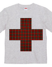 Red check cross