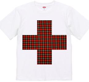Red check cross