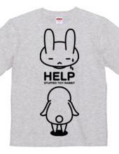 stuffed toy rabbit(HELP02)