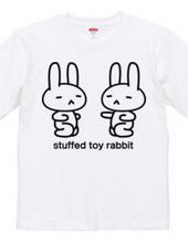 stuffed toy rabbit (punch practice)