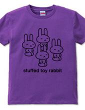 stuffed toy rabbit(正座)