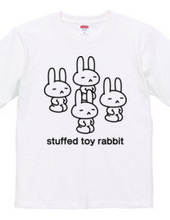 stuffed toy rabbit(正座)