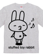 stuffed toy rabbit(ご機嫌気分)
