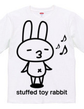 stuffed toy rabbit (mood mood)