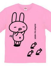 stuffed toy rabbit(ご機嫌気分02)