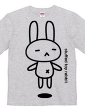 stuffed toy rabbit (Airborne 04) two-sid