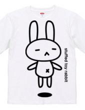 stuffed toy rabbit(浮遊04)両面