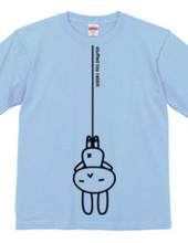 stuffed toy rabbit(吊り下げ)両面