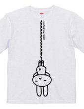 stuffed toy rabbit(吊り下げ)02:両面