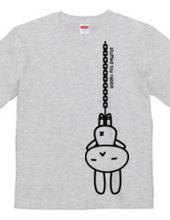 stuffed toy rabbit(吊り下げ)04:両面