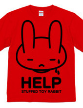 stuffed toy rabbit(HELP02)片面