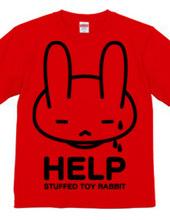 stuffed toy rabbit(HELP02)片面