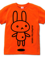 stuffed toy rabbit  airborne 04   awaken