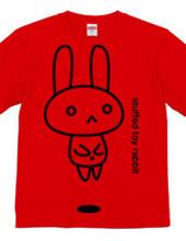 stuffed toy rabbit  airborne 02   awaken