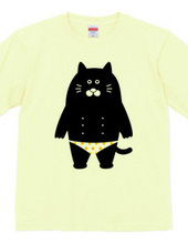 cat of dot trousers