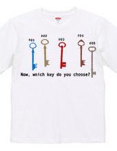 Open the key  #001