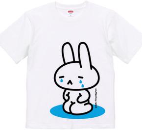 stuffed toy rabbit(泣く子供/親子マークなし)