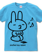stuffed toy rabbit (available in parent