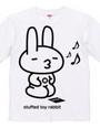stuffed toy rabbit(親/ルンルン気分/親子マークあり)