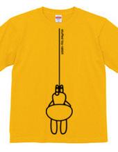 stuffed toy rabbit(吊り下げ)/反対バージョン/両面