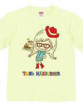 TOM`S HAMBURGER★girl