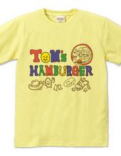 TOM`S HAMBURGER★ logo
