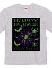 Halloween Spider & Bat 02