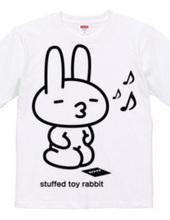stuffed toy rabbit(親/ルンルン気分/親子マークなし)