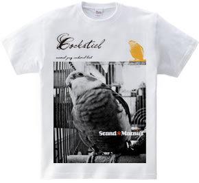 オカメインコ フォトプリントTシャツ