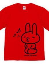 stuffed toy rabbit(子/ルンルン気分/親子マークなし)