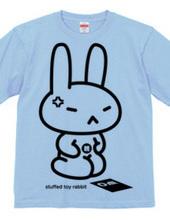 stuffed toy rabbit(親/怒る/親子マークあり)