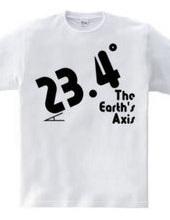 23.4° -地軸-