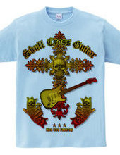 Skull Cross Guitar