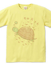 Earth turtle pink