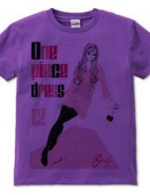 ONE PIECE DRESS ROSE