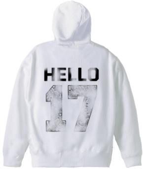 Hello 17 zip parka