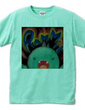 恐竜ロゴTシャツ